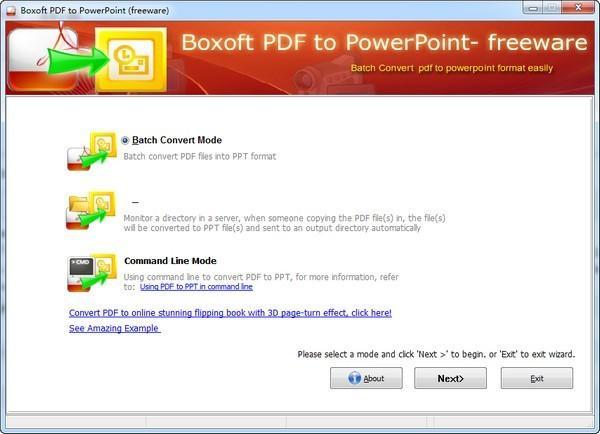 Boxoft PDF to PowerPoint最新版下载