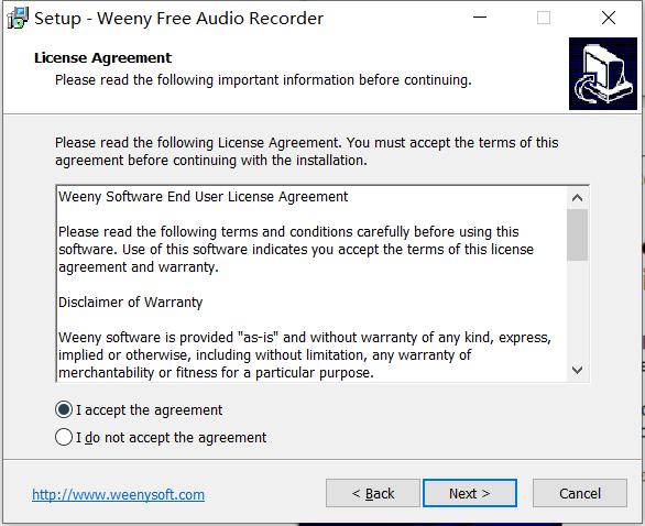 Weeny Free Audio Recorder中文版下载
