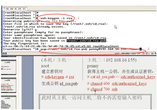 Remote Sync备份数据免密码ssh登陆远程服务器