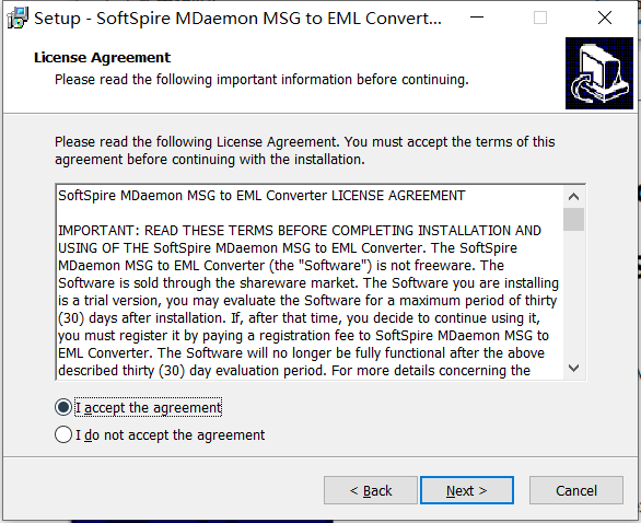 MDaemon MSG to EML Converter最新版下载