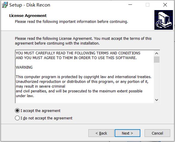 Disk Recon