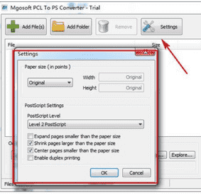 Mgosoft PCL To PS Converter免费版下载