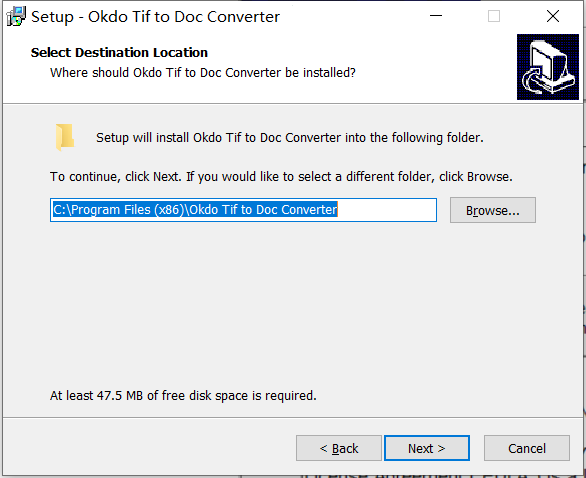 Okdo Tif to Doc Converter