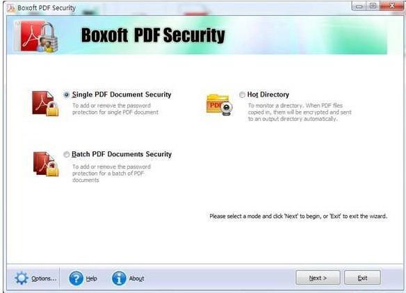 Boxoft PDF Security 中文版下载