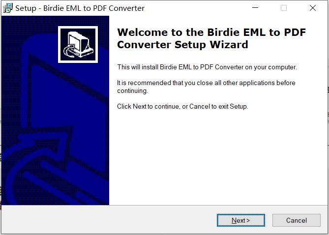 Birdie EML to PDF Converter绿色版下载