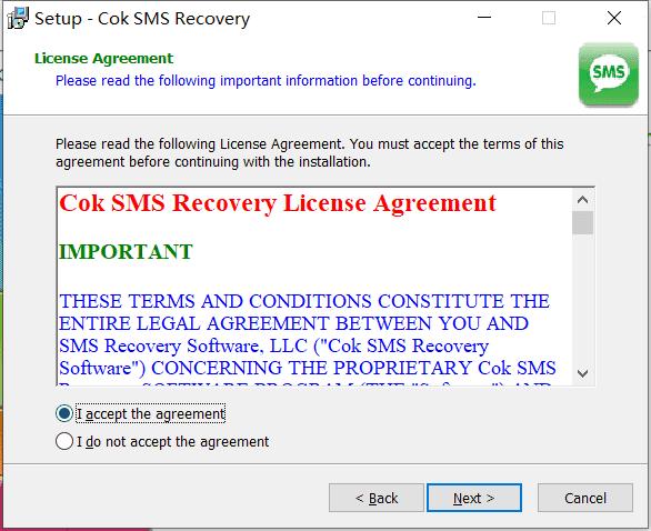 Cok SMS Recovery中文版下载
