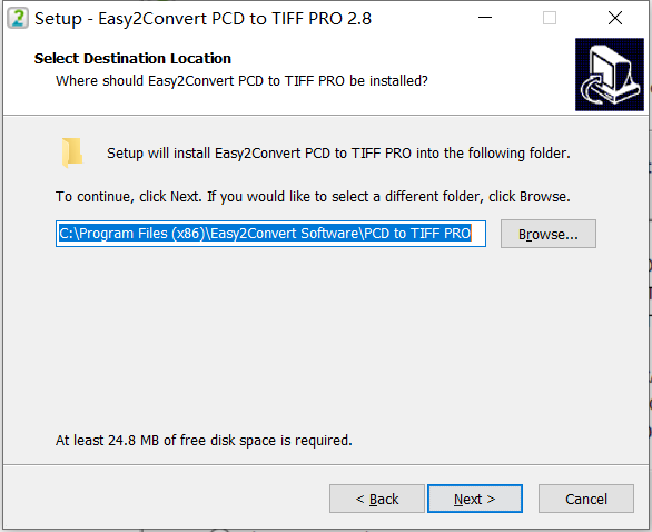 Easy2Convert PCD to TIFF