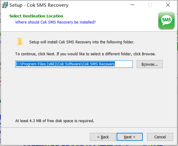 Cok SMS Recovery