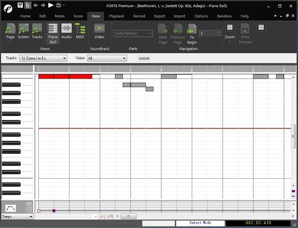 FORTE乐谱制作软件下载 v11.0.1中文破解版