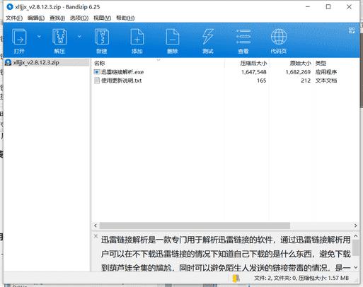 迅雷链接解析下载 v2.8.12.3绿色中文版