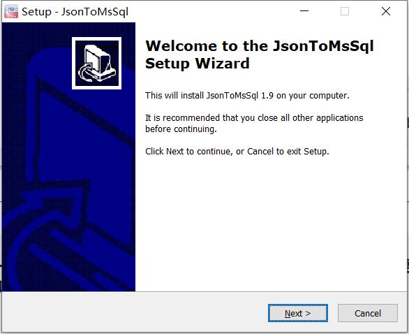 JsonToMsSql免费版下载