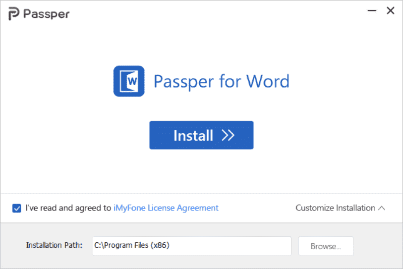 Passper for Word