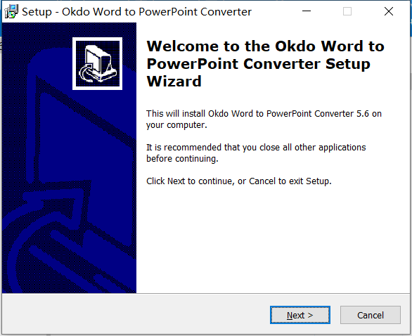 Okdo Word to PowerPoint Converter中文版下载
