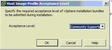 ESXI虚拟机安装vib软件