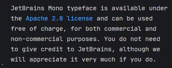 编程字体Mono开源免费可商用、提供更好的阅读体验