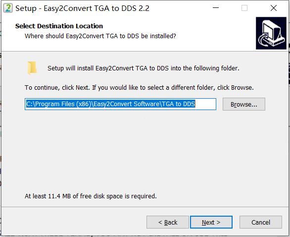 Easy2Convert TGA to DDS最新版下载