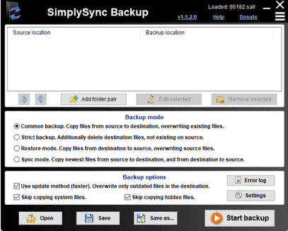 SyncBack