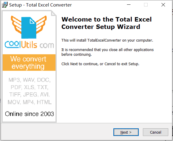 Total Excel Converter破解版下载