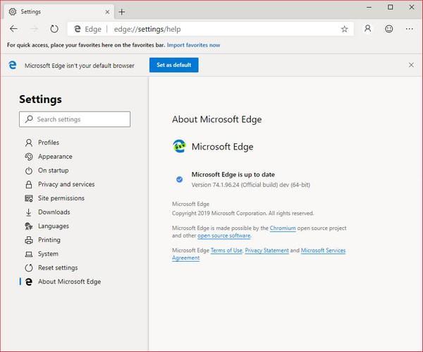 Chromium Edge开发版下载 v81.0.416.3免费最新版