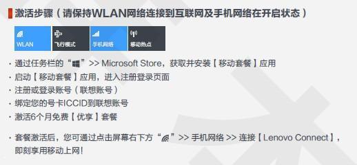 ThinkPad 4G 如何激活绑定4G上网