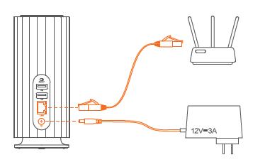 联想NAS个人云存储T安装及绑定方法