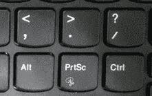 笔记本上Fn+PrtSc 组合键无法调出截屏工具 Fn和Ctrl功能怎么交换