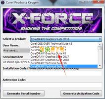 coreldraw x8注册机