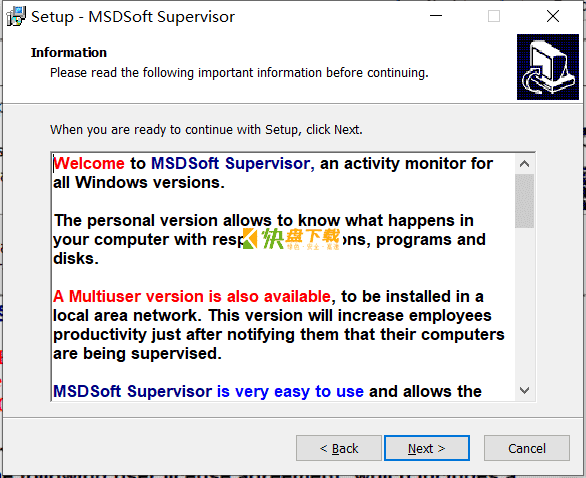 MSDSoft Supervisor