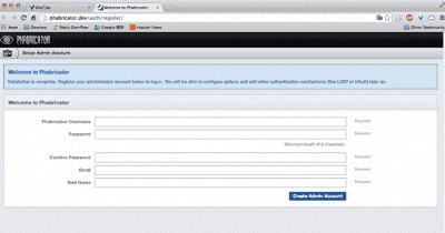Docker安装phabricator的配置和使用方法