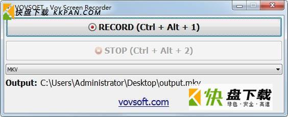 Vov Screen Recorder破解版版下载
