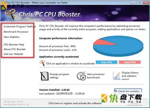 PC CPU Booster