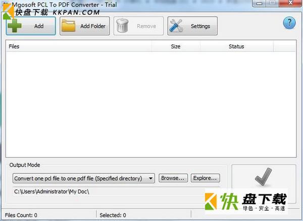 Mgosoft PCL To PDF Converter下载