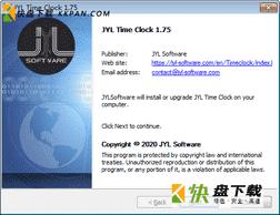 JYL TimeClock时间管理工具免费版v1.75