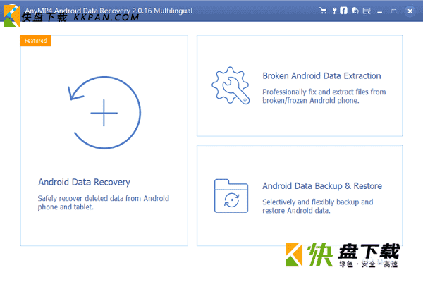 AnyMP4 Android Data Recovery下载