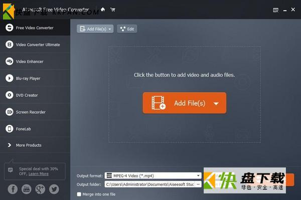 Aiseesoft Free Video Converter下载