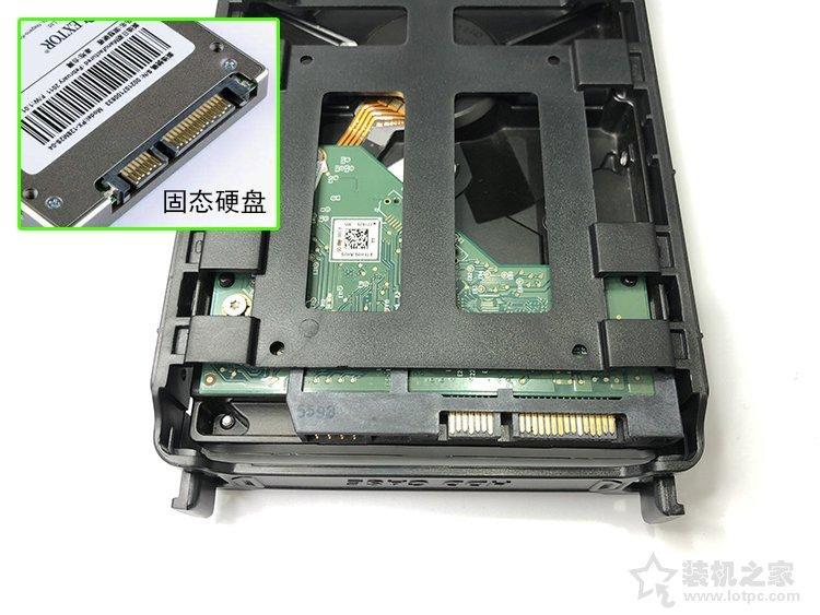 台式机硬盘扩容方法,台式机械硬盘安装分区教程图解