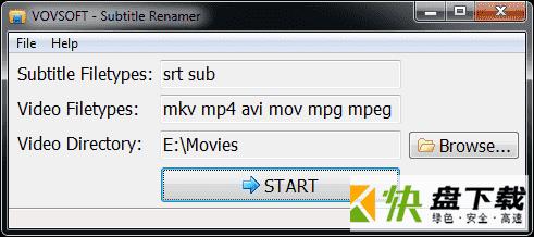 Vovsoft Subtitle Renamer下载