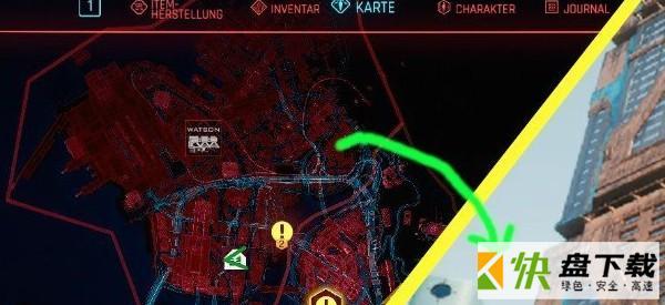 赛博朋克2077快捷地图键补丁下载