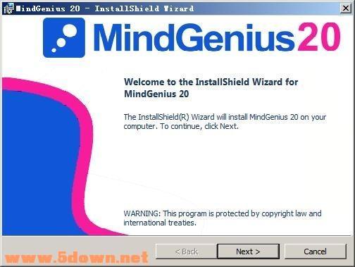 MindGenius 2020图文安装破解教程