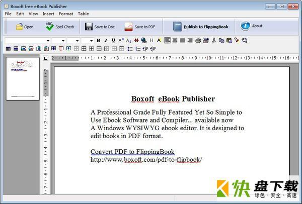 Boxoft Free eBook Publisher