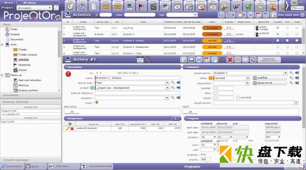 项目管理软件ProjeQtOr v9.0.2