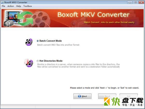 Boxoft MKV Converter工具