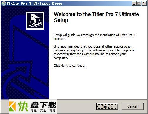 NewBlue视频字幕编辑软件  v7.51绿色版