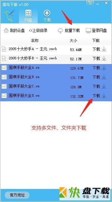 雷鸟下载器中文版
