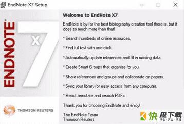 EndNote X7文献管理软件 v17.0最新版
