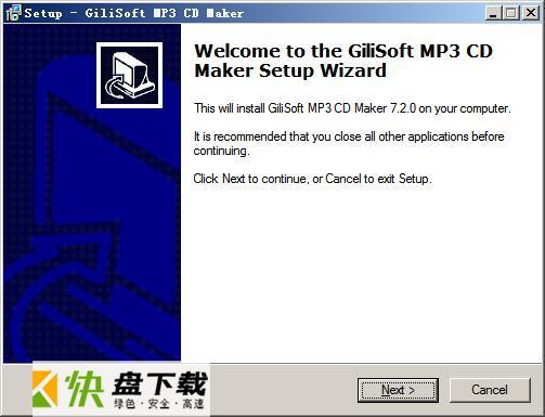 Gilisoft MP3 CD Maker音频格式转换工具下载 1.3.0 官方版