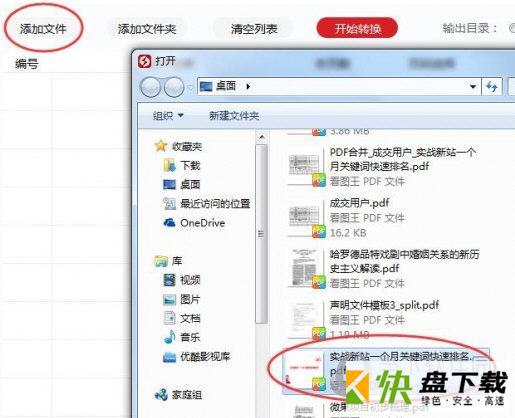 闪电PDF转换成WORD转换器下载v6.5.2.0官方版