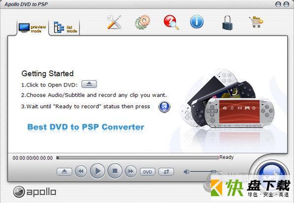 Apollo DVD to PSP下载