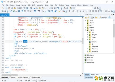 WeB代码编辑器WeBuilder 2013 下载V12.2