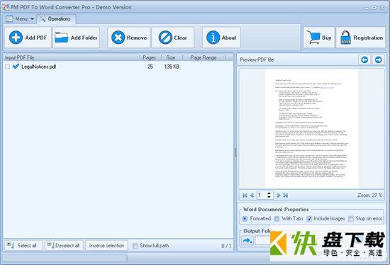FM PDF To Word Converter